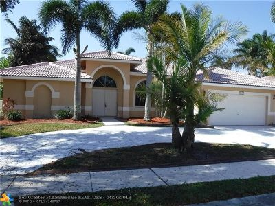 Pembroke Pines Single Family Home For Sale: 10248 SW 12th St