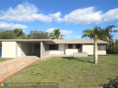 Fort Lauderdale Single Family Home For Sale: 367 W Dayton Cir