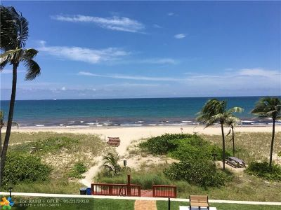 Lauderdale By The Sea Condo/Townhouse For Sale: 5200 N Ocean Blvd #301-A