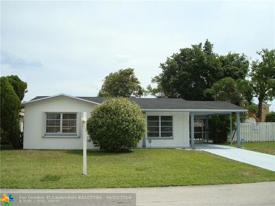Tamarac Single Family Home For Sale: 7506 NW 58th St