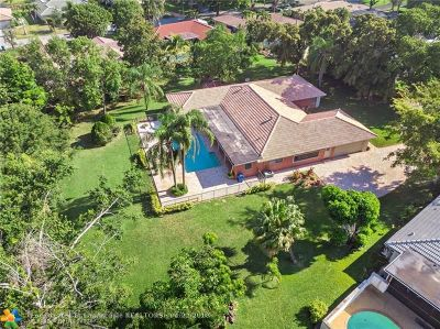 Coral Springs Single Family Home For Sale: 120 NW 88th Way