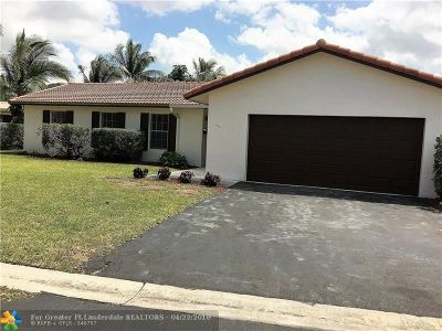 Coral Springs Single Family Home For Sale: 11200 NW 38th