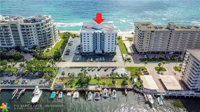 Hillsboro Beach Condo/Townhouse For Sale: 1057 Hillsboro Mile #223