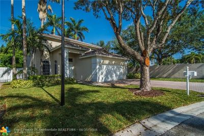 Plantation Single Family Home For Sale: 771 NW 135th Way
