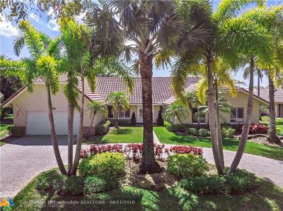 Coral Springs Single Family Home For Sale: 962 NW 113th Way