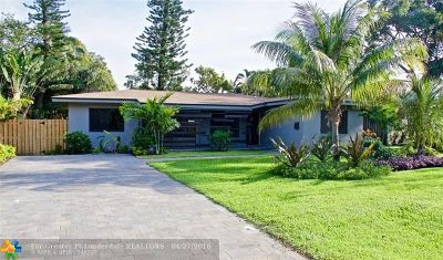 Fort Lauderdale Single Family Home For Sale: 208 NE 16th Pl