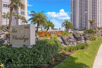 Pompano Beach Condo/Townhouse For Sale: 1340 S Ocean Blvd #508