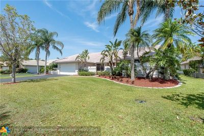 Coral Springs Single Family Home For Sale: 4901 NW 89th Ter