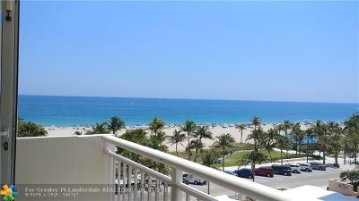 Pompano Beach Condo/Townhouse For Sale: 133 N Pompano Beach Blvd #507