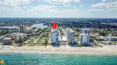 Pompano Beach Condo/Townhouse For Sale: 1010 S Ocean Blvd #1707