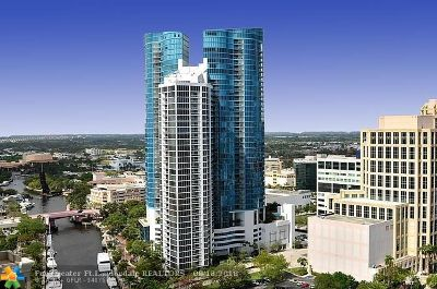 Fort Lauderdale Condo/Townhouse For Sale: 333 Las Olas Way #503