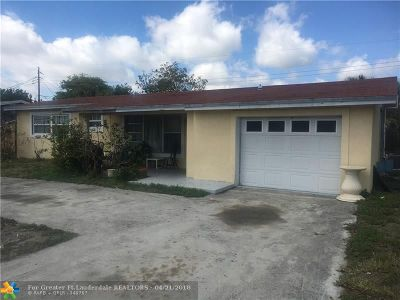 Deerfield Beach Single Family Home For Sale: 1163 SE 4th Ave