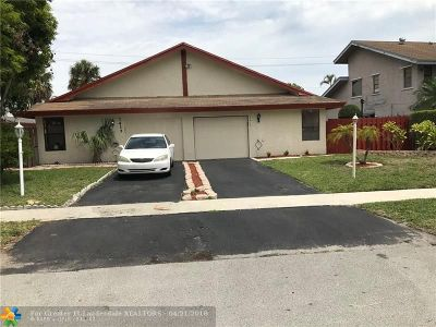 North Lauderdale Single Family Home Backup Contract-Call LA: 7417 SW 11th Ct