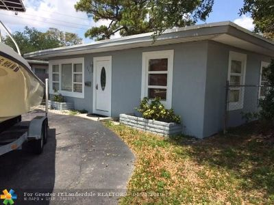 Fort Lauderdale Single Family Home For Sale: 247 SW 22nd St