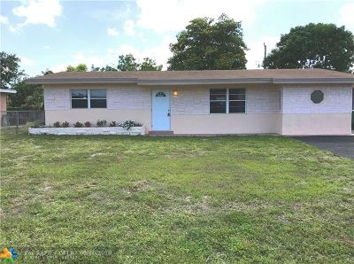 Fort Lauderdale Single Family Home For Sale: 4511 NW 12th Ave