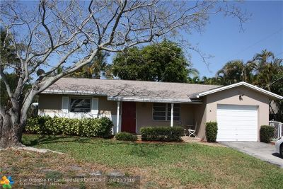 Pompano Beach Single Family Home For Sale: 831 SW 1st Ave