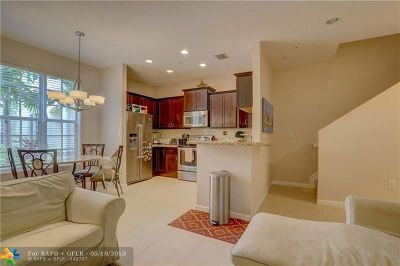 Pompano Beach Condo/Townhouse For Sale: 99 SW 7th Ct