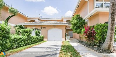 Broward County , Palm Beach County Condo/Townhouse For Sale: 3251 NW 44th St #4