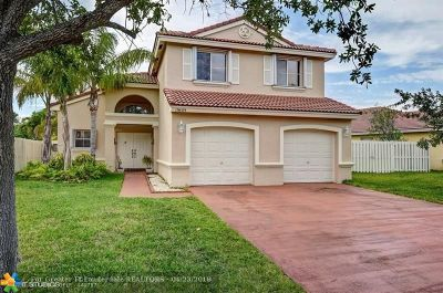 Pembroke Pines Single Family Home For Sale: 19409 NW 24th Pl