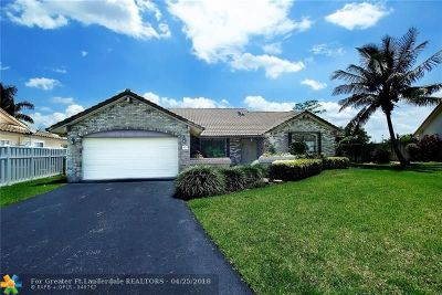 Coral Springs Single Family Home For Sale: 247 NW 105th Te