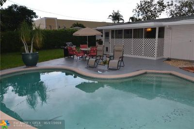 Wilton Manors Single Family Home For Sale: 301 NW 30th Ct