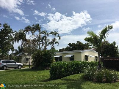 Pompano Beach Single Family Home For Sale: 2948 NE 12th Ter