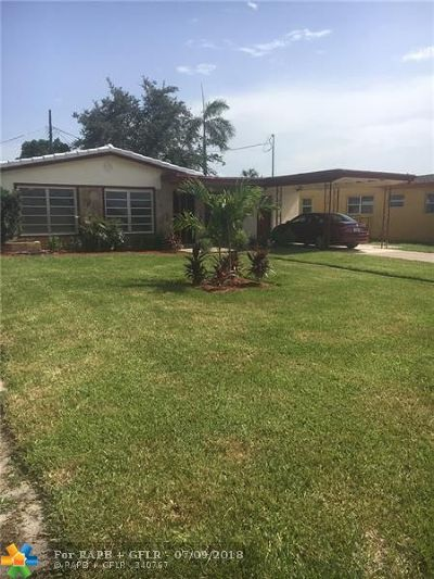 Fort Lauderdale Single Family Home For Sale: 2460 NW 16th Ct