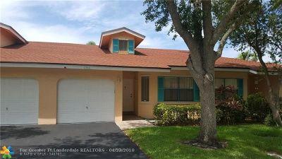 Tamarac Condo/Townhouse For Sale: 6766 N Pine Island Rd #6766