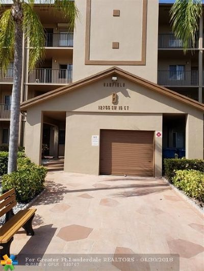 Pembroke Pines Condo/Townhouse For Sale: 12755 SW 16th Ct #211