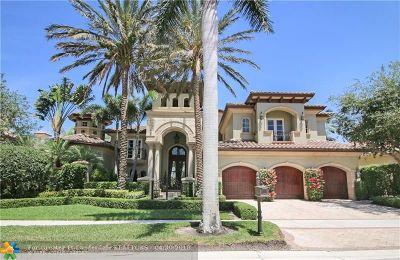 Palm Beach Gardens Single Family Home For Sale: 113 Via Capri