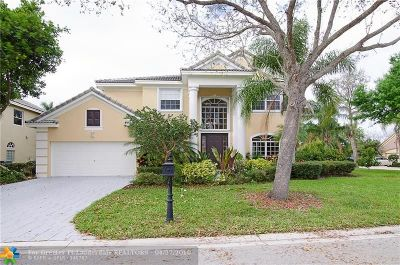 Parkland Single Family Home For Sale: 10447 NW 58th Pl