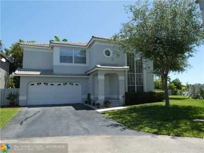 Coconut Creek Single Family Home For Sale: 5452 NW 42nd Way