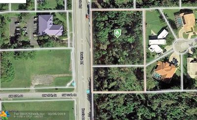 Davie Residential Lots & Land For Sale: 5640 SW Davie Rd