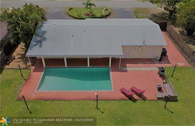 Pembroke Pines Single Family Home Backup Contract-Call LA: 7041 SW 13th St