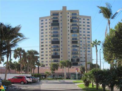 Pompano Beach Condo/Townhouse For Sale: 1200 Hibiscus Ave #801