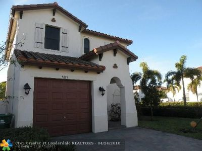 Miramar Single Family Home For Sale: 9098 SW 35th St