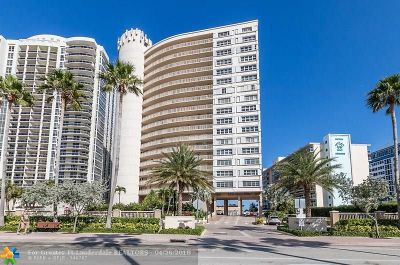 Fort Lauderdale Condo/Townhouse For Sale: 4100 E Galt Ocean Dr #1504