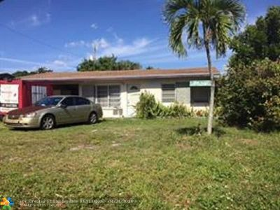 Pompano Beach Single Family Home For Sale: 1449 NE 29th St