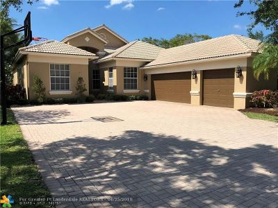 Parkland Single Family Home For Sale: 11163 NW 69th Pl