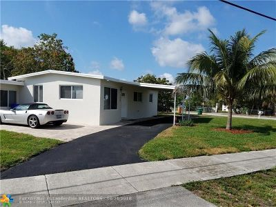Fort Lauderdale Single Family Home For Sale: 190 NW 29th Ave
