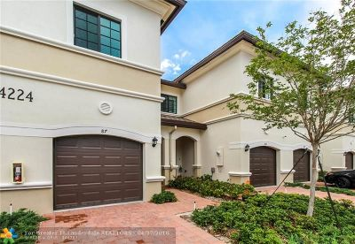 Oakland Park Condo/Townhouse Backup Contract-Call LA: 4224 N Dixie Hwy #87