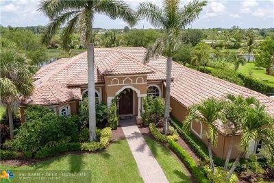 Davie Single Family Home For Sale: 4096 E Winners Cir