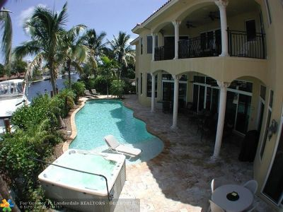 Pompano Beach Single Family Home For Sale: 1261 NE 27th Way