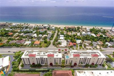 Condo/Townhouse For Sale: 2501 N Ocean Blvd #452