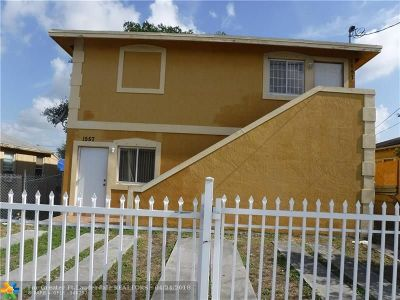 Miami Multi Family Home For Sale: 1557 NW 62nd Ter