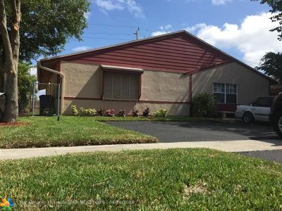 North Lauderdale Single Family Home For Sale: 7215 SW 11th Ct