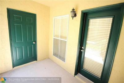 Coral Springs FL Condo/Townhouse Backup Contract-Call LA: $109,900
