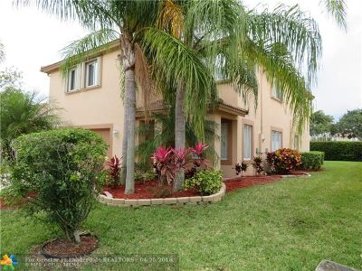 Coral Springs Single Family Home For Sale: 5308 NW 122nd Dr