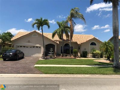 Boca Raton Single Family Home For Sale: 10165 Canoe Brook Cir