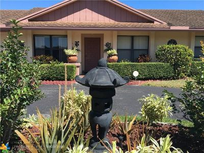 Plantation Single Family Home For Sale: 1260 NW 78th Ter
